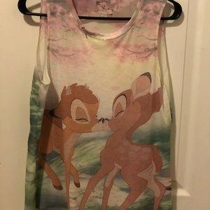 Disney Bambi tank top